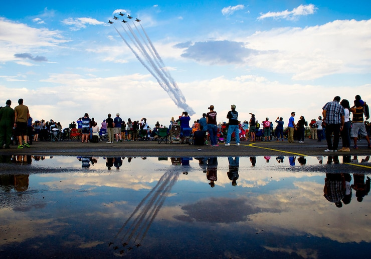 Image of an Air Show with link to Secretary of the Air Force Public Affairs