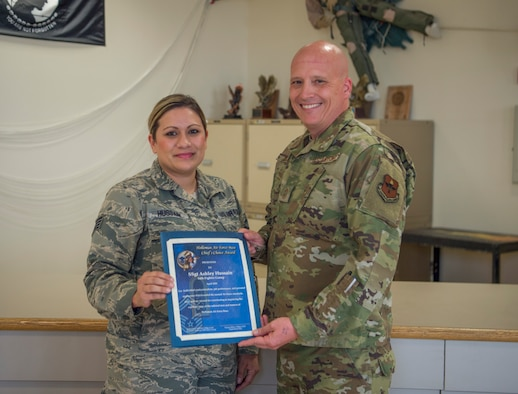 Airman selected for monthly award