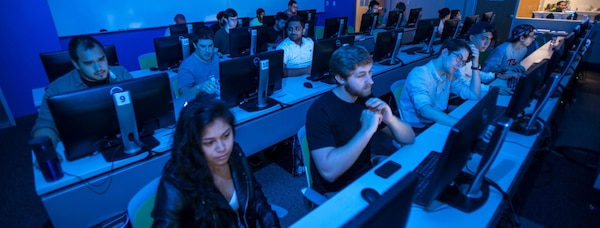 Cybersecurity program at University of Texas at San Antonio business students receive hands-on applied training.