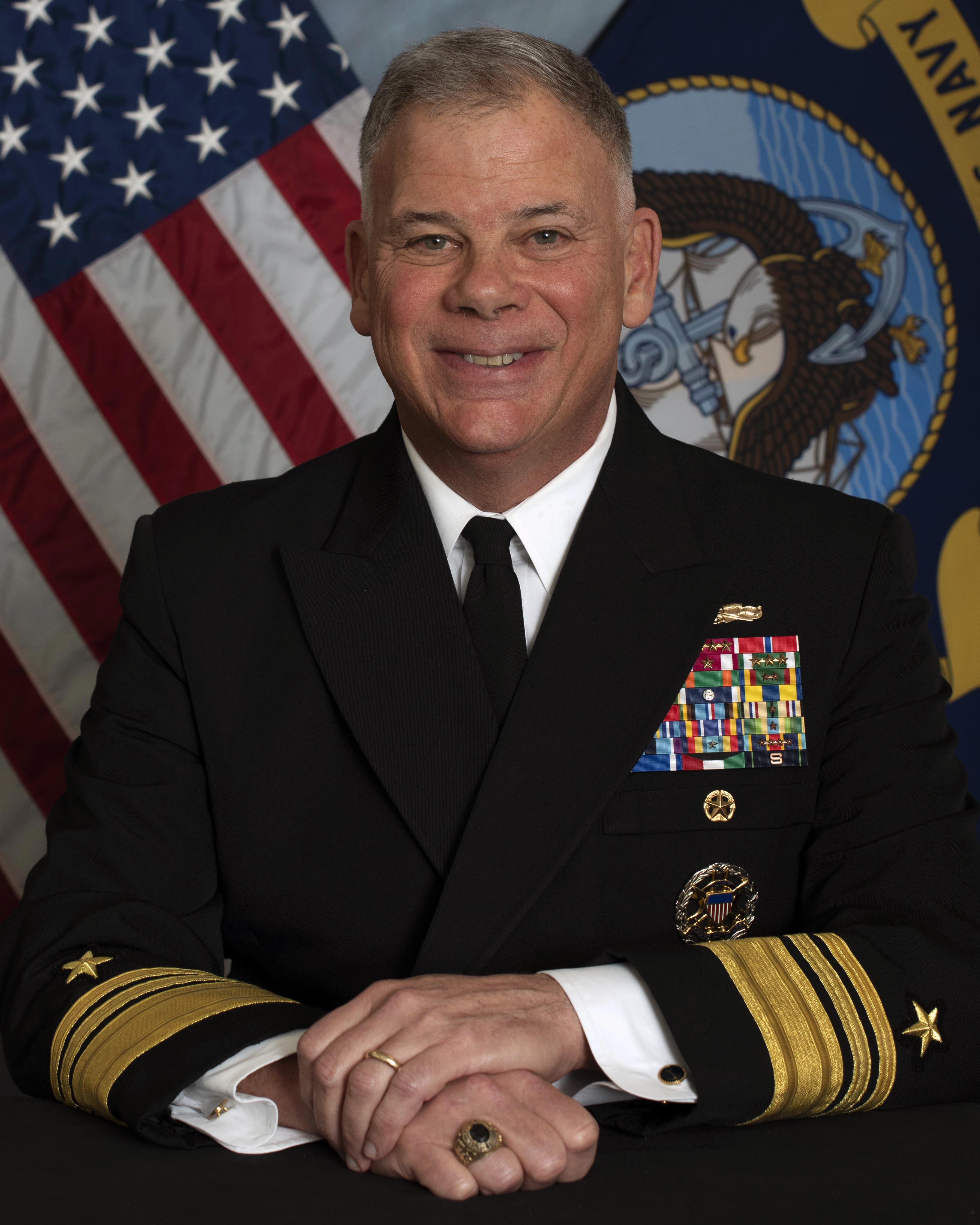 Vice Admiral John Nowell Jr. > United States Navy > BioDisplay
