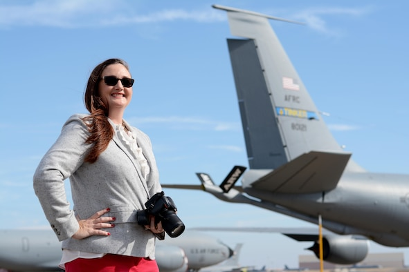 Tech. Sgt. Lauren Gleason is a member of the largest reservist wing in the state, and works as a Public Affairs Specialist in the 507th Refueling Wing on the civilian side, and as a photojournalist on the reservist side.