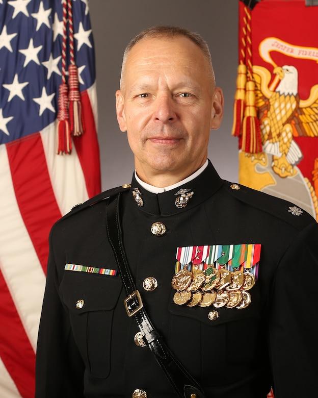 Lt. Col. Choat Command Photo