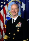 Official USCYBERCOM photo for Deputy Commander Navy Vice Adm. Ross Myers