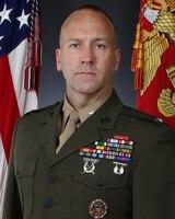 Colonel Brian P. Coyne, 2d Marine Regiment commanding officer
