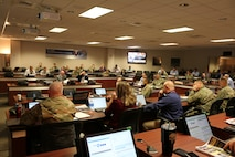 More than 60 senior Army aviators, logisticians and maintainers from across the Aviation Branch tackled during the 2019 Worldwide Aviation Logistics Conference, held at the U.S. Army Aviation and Missile Command Headquarters in Huntsville May 21-23, 2019