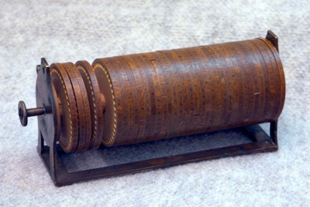 18th Century Cipher Device