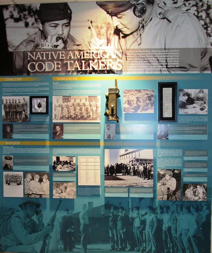 World War 2: Code Talkers Exhibit