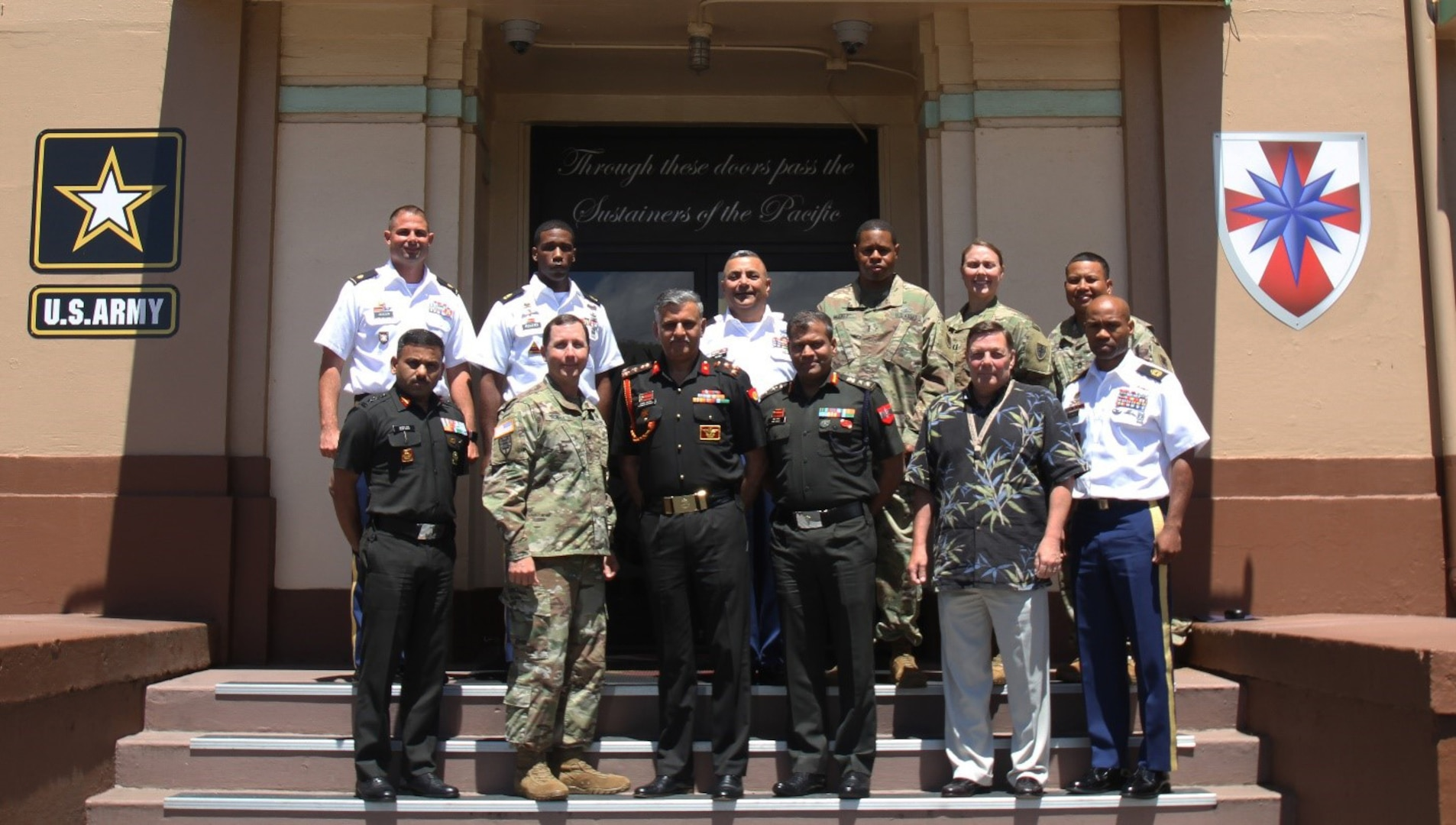 8th TSC Welcomes Indian Army Delegation for Logistics Subject Matter Expert Exchange