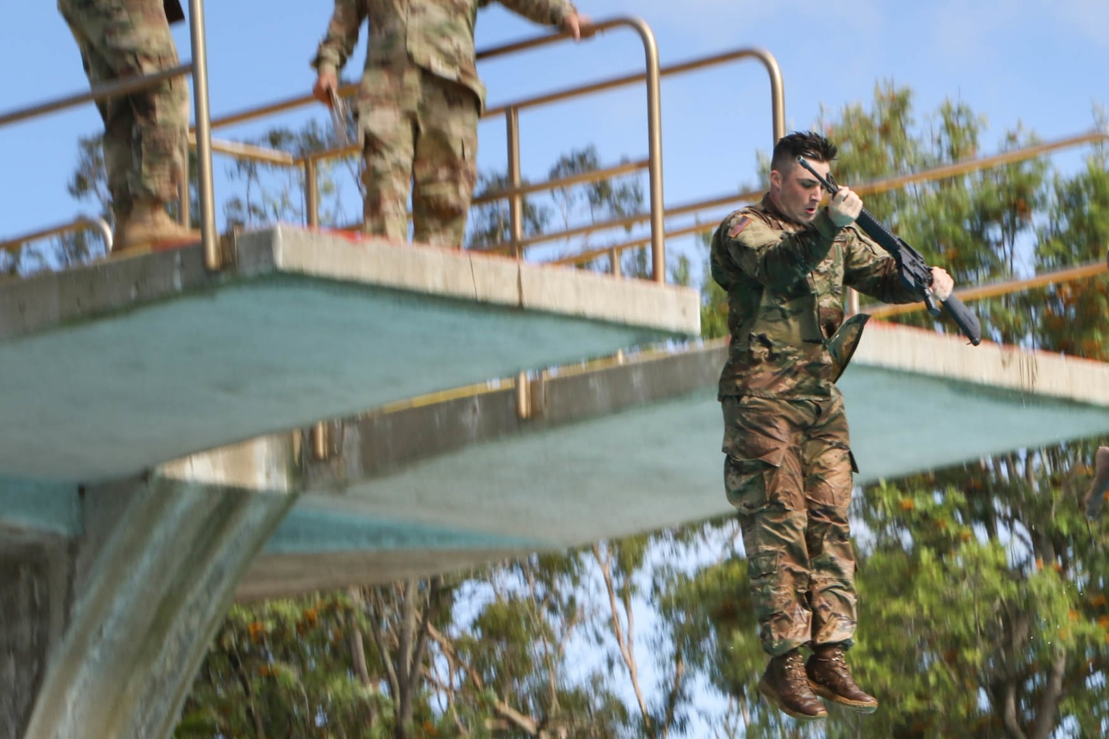 The 94th Army Air and Missile Defense Command Host Best Warrior Competition