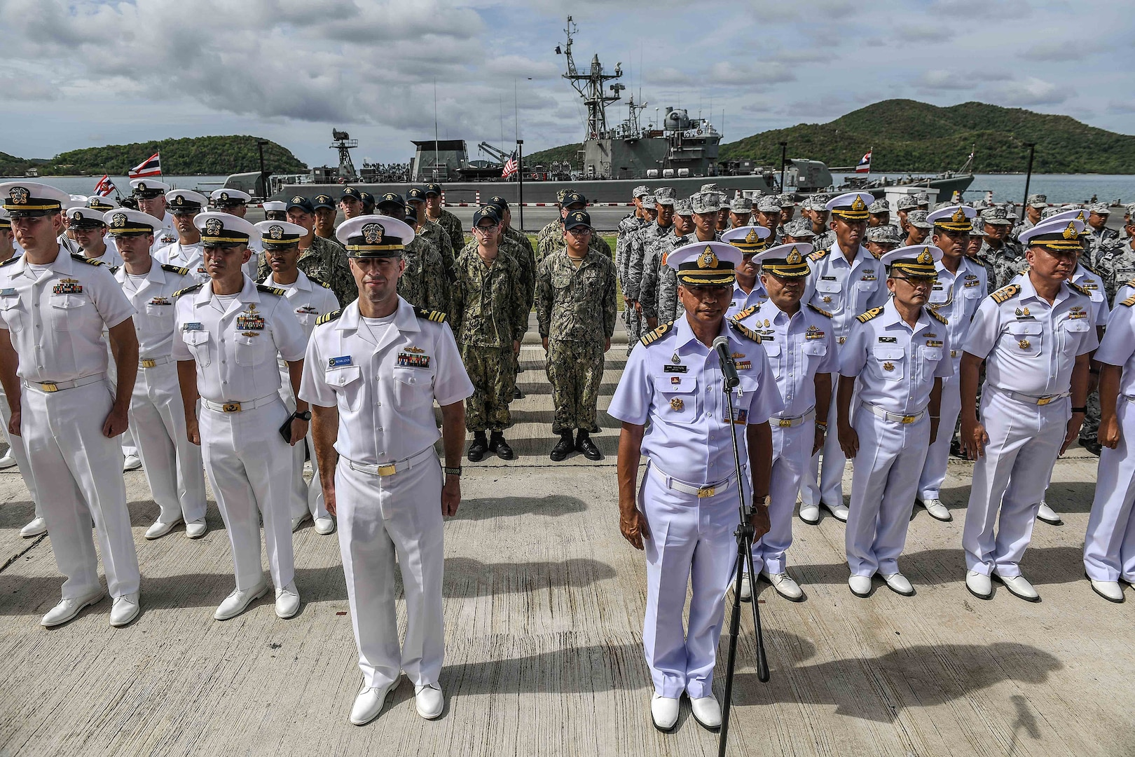 U.S., Thailand Kick Off 25th Cooperation Afloat Readiness and Training Exercise