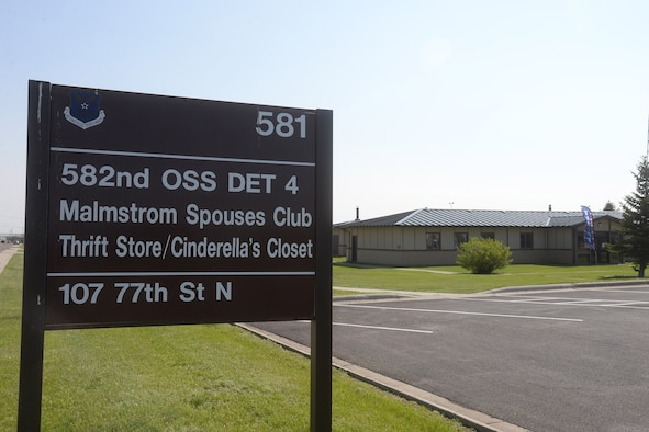 The Malmstrom Spouses' Club Thrift Store is a nonprofit organization that provides monetary funds for military dependents' educational scholarships and community welfare.