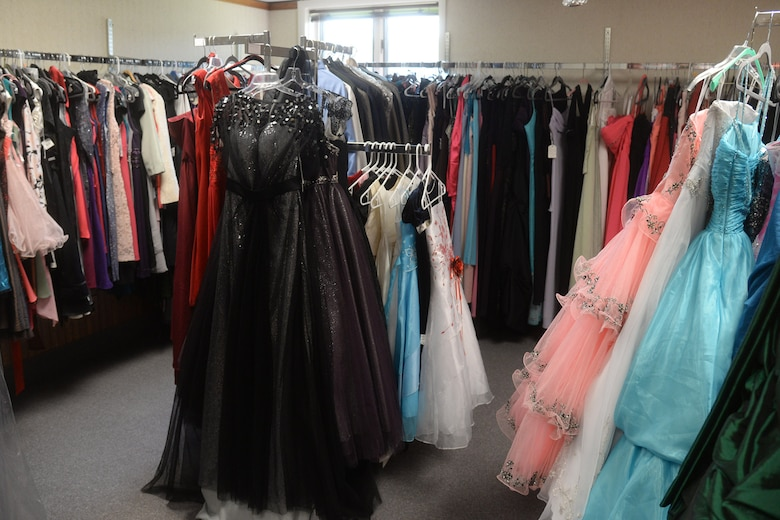 Known as Cinderella's Closet, these outfits are available for rent so long as they dry-cleaned upon return.