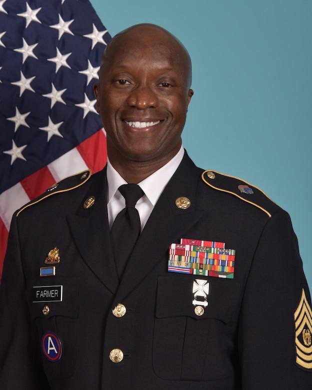 Command Sergeant Major Ronnie Farmer