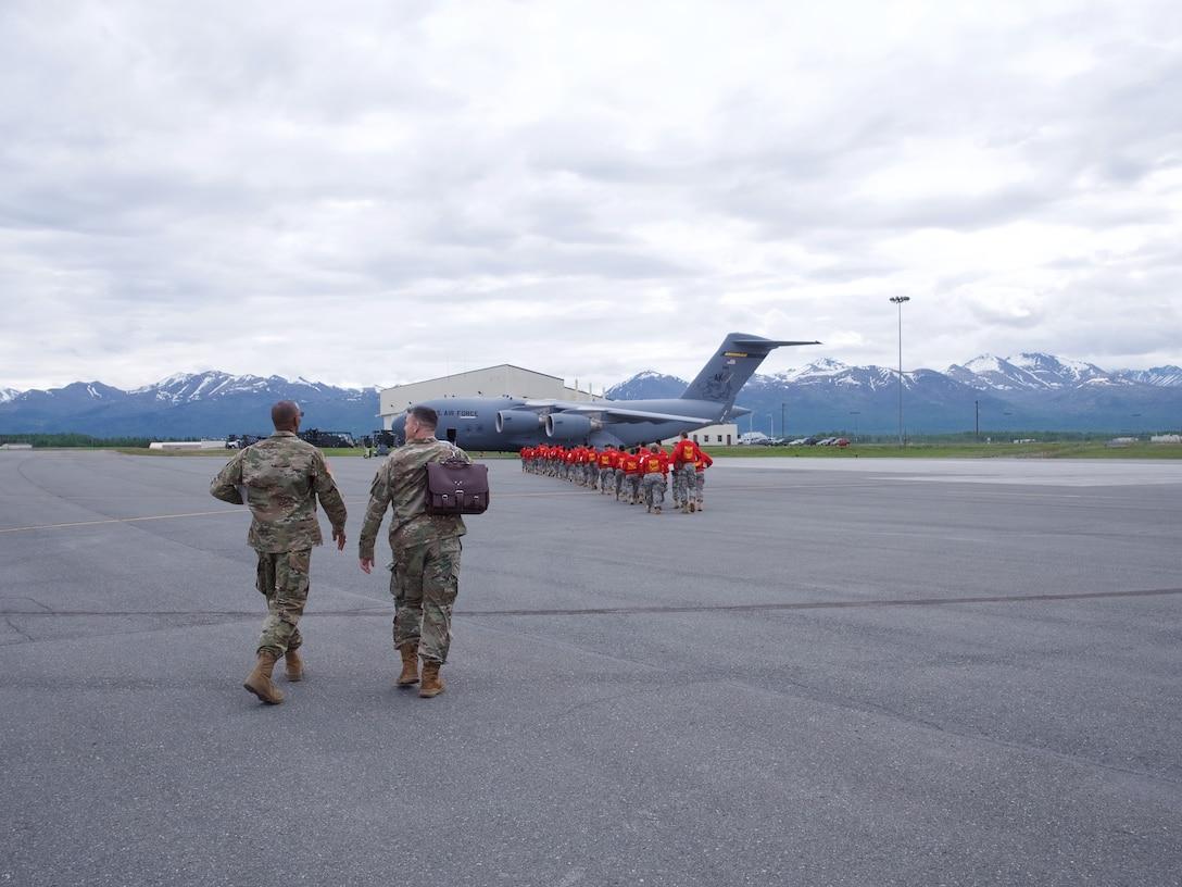 176th Wing Airmen host Junior ROTC cadets.