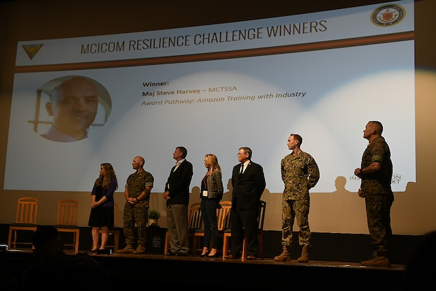 MCTSSA Marine recognized during Installation neXt expo