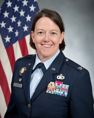Colonel Melissa Stone is the Commander of the 363d Intelligence, Surveillance and Reconnaissance Wing, Joint Base Langley-Eustis, Virginia.
