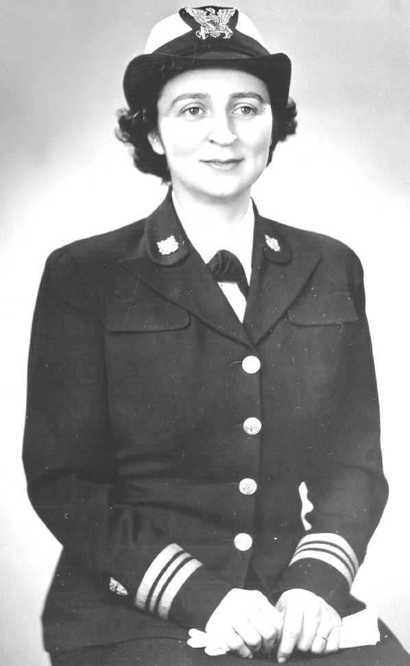 SPAR officer uniform: service dress blue