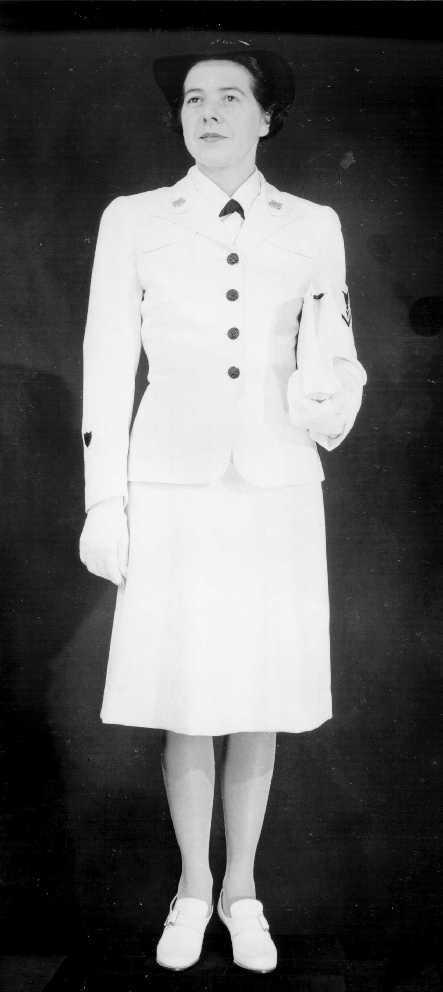 SPAR uniform: service dress white