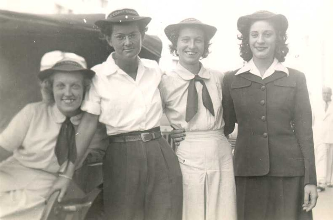 Assorted SPAR uniform types, 1944