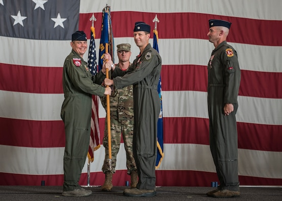 Congratulations to Team Shaw's newest 77th Fighter Squadron commander Lt. Col. David Bennett.