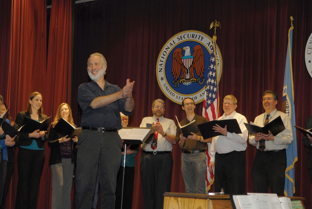 The Parkway Chorale Performs at an NSA Event in December 2011