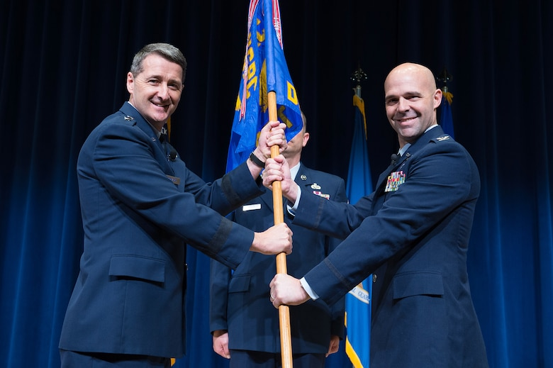 Change-of-command ceremony
