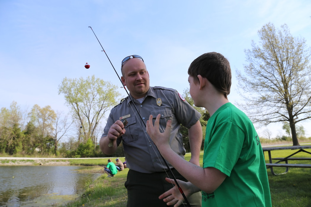 oFree fishing days are a perfect opportunity for beginners to try out fishing for the first time. Corps lakes offer great water access and fantastic fisheries. Get to a Corps lake near you and catch some fish during these free fishing days. Kansas - June 1 & 2, Missouri - June 8 & 9, Iowa - June 7 – 9