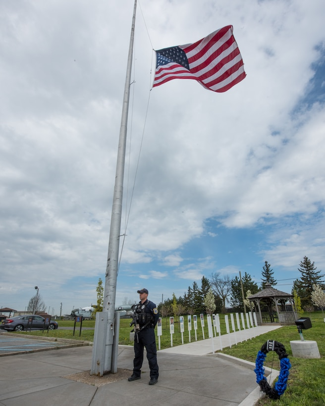 914th Security Forces Squadron celebrates National Police Week