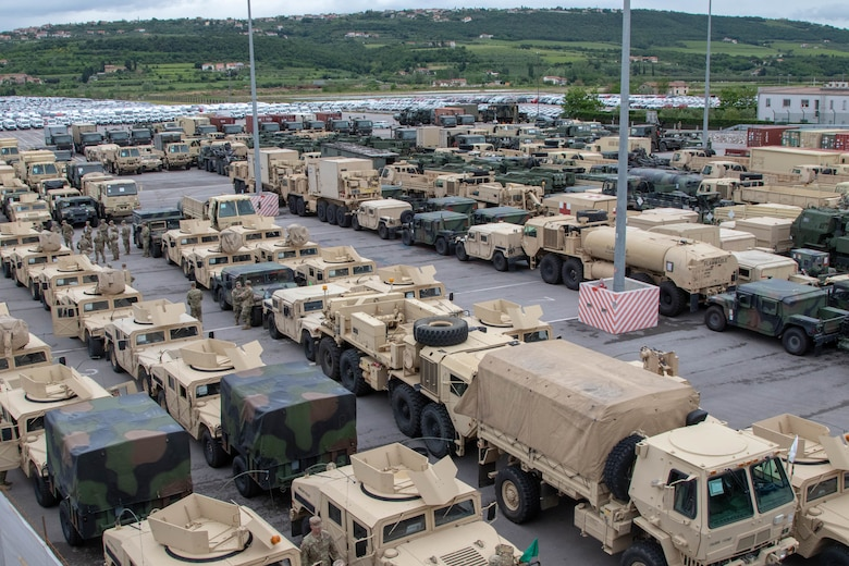 U.S. Army Reserve's 7th MSC provides critical transportation for Immediate Response 19