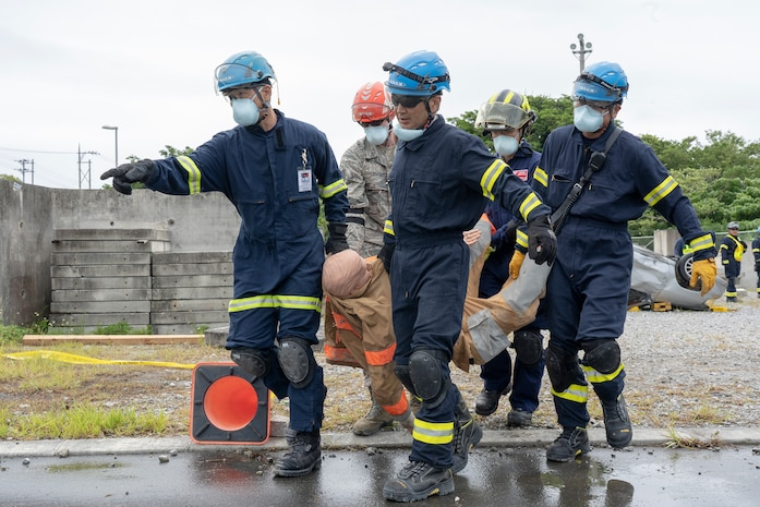 Urban Search and Rescue Operations Training in Okinawa