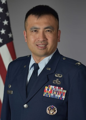 100th Operations Group Commander Colonel John Tran