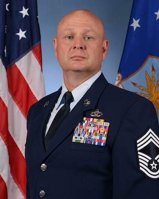 Chief Master Sergeant Scott L. Cooley is the Command Chief Master Sergeant for the 20th Fighter Wing, Shaw Air Force Base, South Carolina. He is responsible for military standards, good order and discipline, morale, welfare, training, and professional development for more than 4,500 enlisted personnel assigned to the largest F-16 combat fighter wing in Air Combat Command.