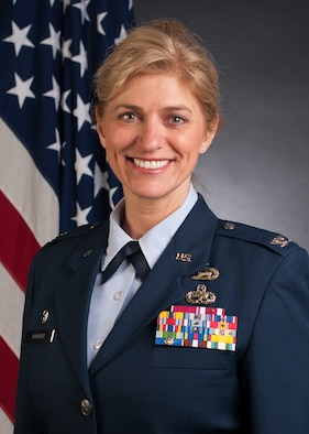 Official photo of Col. Virginia Gaglio