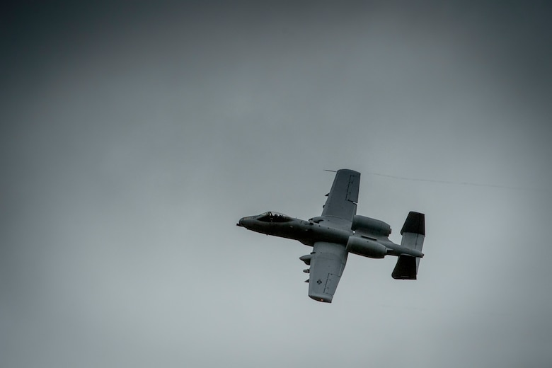 An A-10 Thunderbolt II aircraft assigned to the 107th Fighter Squadron