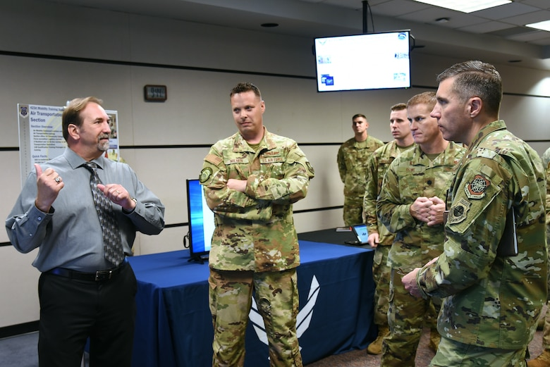 U.S. Air Force Expeditionary Center vice commander receives firsthand glimpse into U.S. Air Force Expeditionary Operations School training