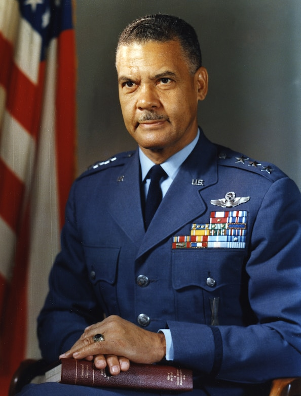 Air Force Lt. Gen. Benjamin O. Davis Jr.