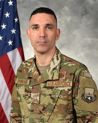 Chief Master Sergeant Shawn L. Drinkard is the Command Chief Master Sergeant for United States Air Forces Central Command, Southwest Asia.