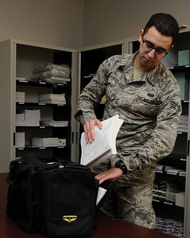 Senior Airman Wally Jniyah, 445th Operations Support Squadron combat crew communications, is the 445th Airlift Wing November 2019 Spotlight Performer.
