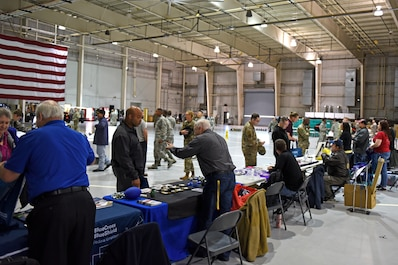 Team Goodfellow hosted the annual Retiree Appreciation Day at the Fire Academy High Bay on Friday, November 1st.