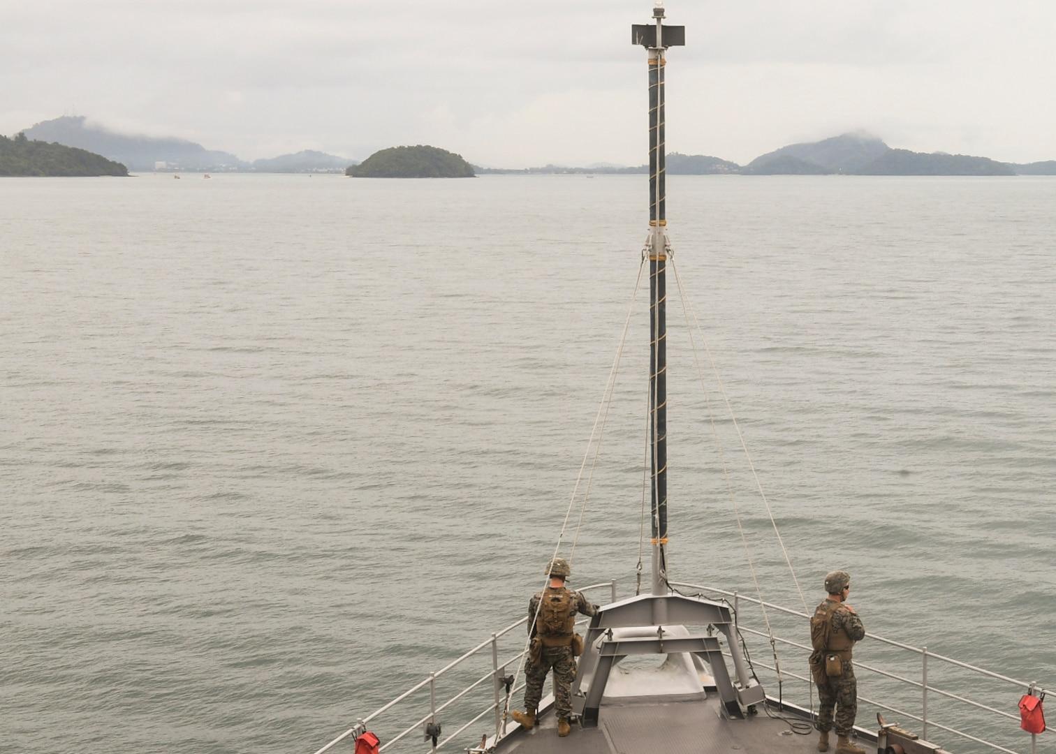 USS Germantown Arrives in Phuket