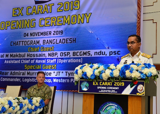U.S. and Bangladesh Navies Kick Off Cooperation Afloat Readiness and Training 201