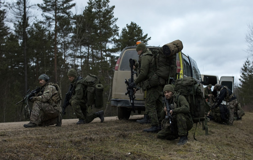Allied Spirit VIII was a multinational exercise which integrated special operation forces and conventional forces from ten nations, improving combined interoperability and interdependence.