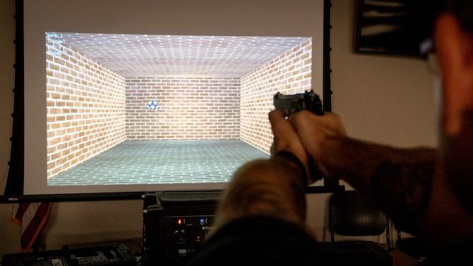weapon simulator training