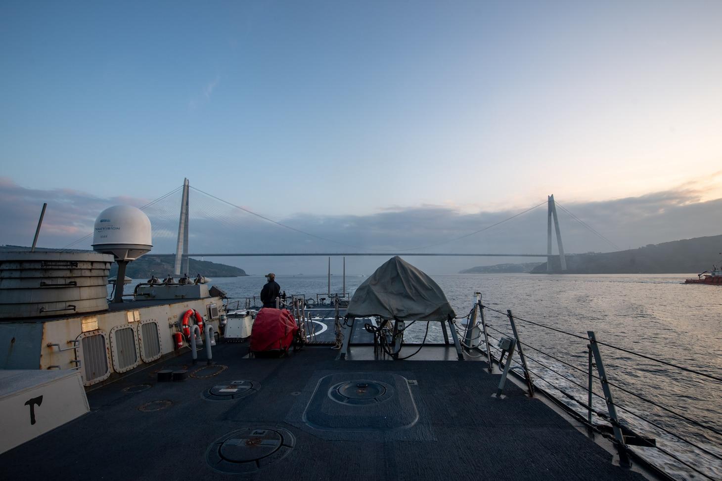 USS Porter (DDG 78); Black Sea