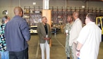 Distribution San Diego hosts retired Navy Vice Admiral Walter Davis