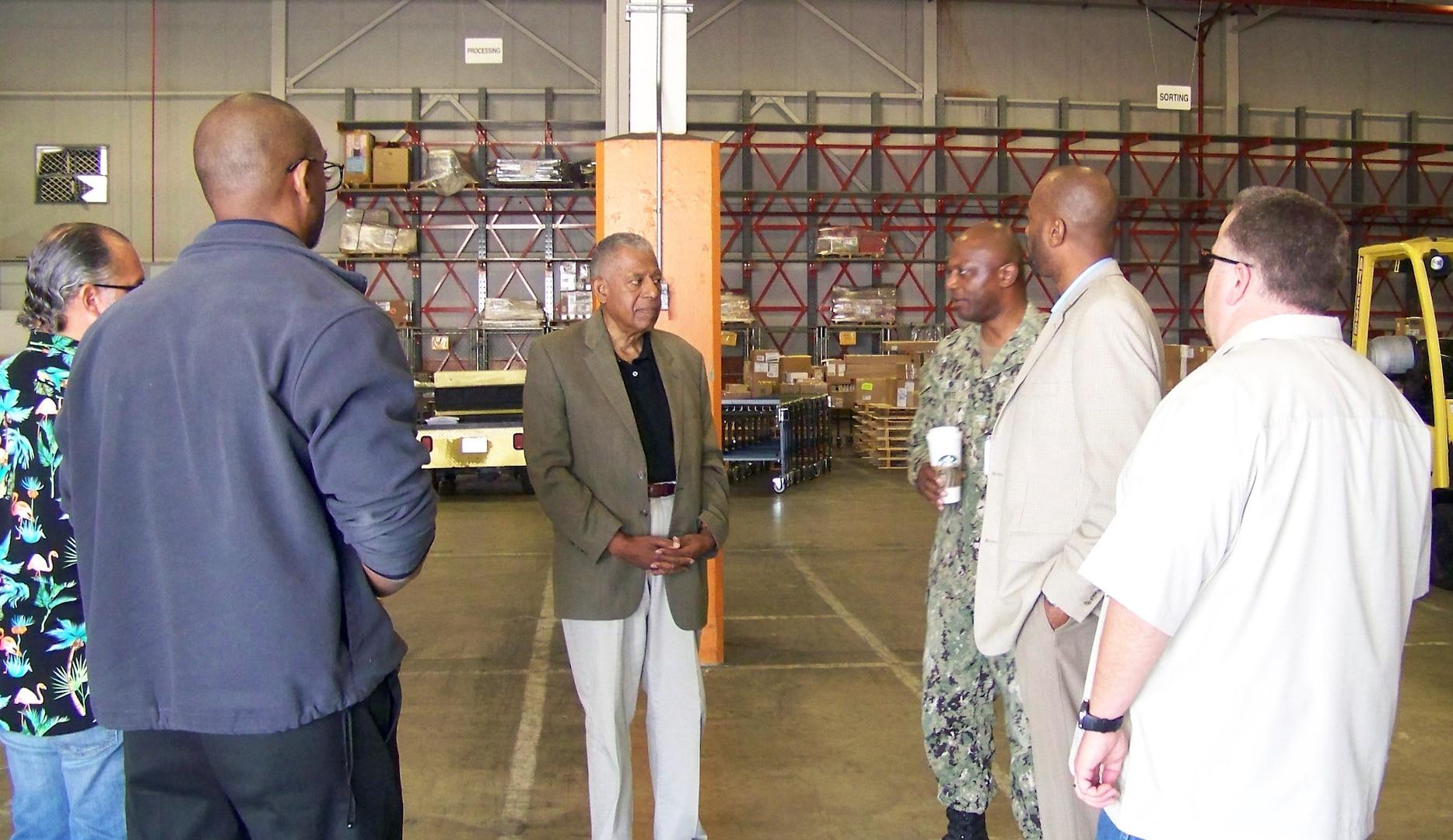 Distribution San Diego hosts retired Navy Vice Admiral Walter Davis