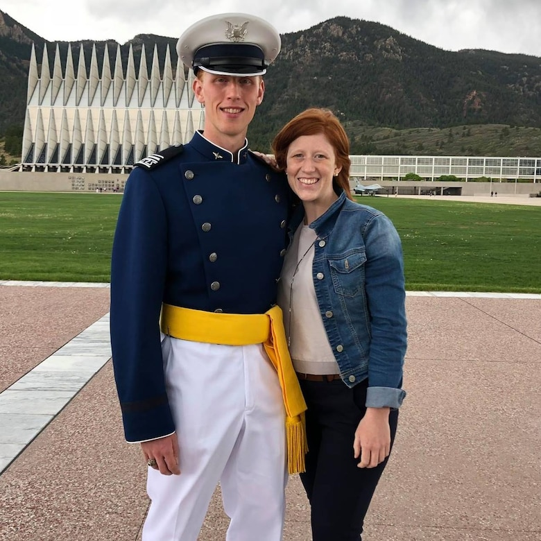 Second Lieutenant Austin Gadient graduated from the Air Force Academy in 2018. He is set to earn his graduate degree in electrical engineering and computer science from the Massachusetts Institute of Technology later this year. (Courtesy Photo)