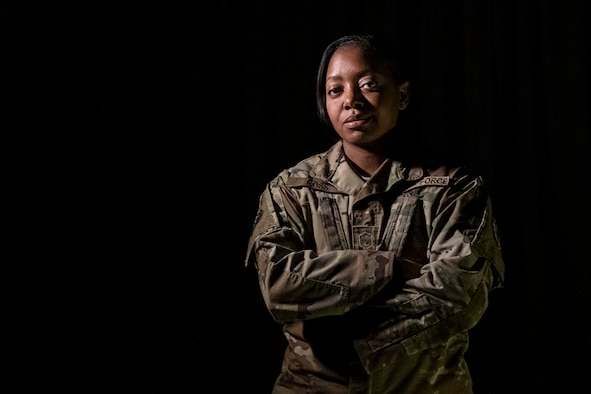 Master Sgt. Randi Ross, 926th Wing yellow ribbon program coordinator. (U.S. Air Force photo by Natalie Stanley)