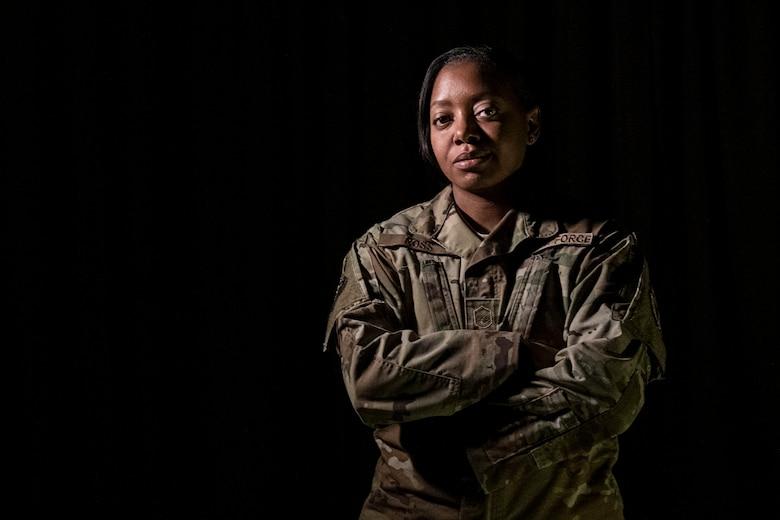 Master Sgt. Randi Ross, 926th Wing yellow ribbon program coordinator. (U.S. Air Force photo by Natalie Stanley)