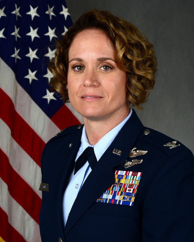 "Col. Carey Jones, 47th Operations Group commander, shares her thoughts on connection throughout a unit and key takeaways that lead to unit success. ""The key to mitigating this pitfall is shifting our mindset outward,"" said Jones. ""Take a moment to consider the needs of others, their challenges, objectives and focus on collective results."" (U.S. Air Force photo by Senior Airman Anne McCready)"